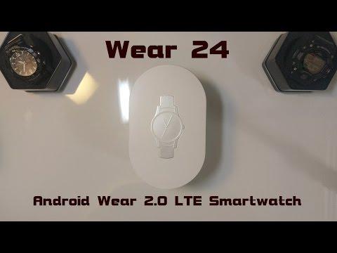 Wear24 LTE Smartwatch Unboxing