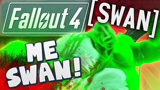 Fallout 4 Gameplay #5 - Me Swan!