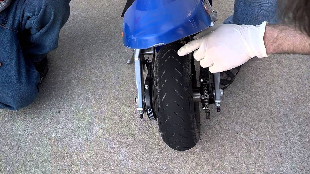 Razor Pocket Bike Review Youtube