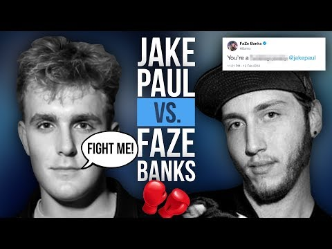 Dear Faze Banks, You Should Watch This.. - Sincerely, Jake Paul.