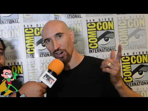 SDCC '17: Scott Menville talks about Robin & Spices on Teen Titans Go