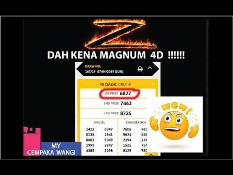 [MR. 4D] Apa Malu BOSSku ! Mari Lihat Cara Teknik ZORRO Kena FIRST Prize MAGNUM 4D 07APR2019 !Hebat!