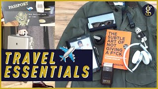 TRAVEL ESSENTIALS | Key Items To Pack For Your Next Vacation (In Style)