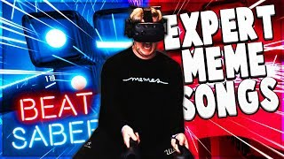 BEST 2019 MEME Songs On Beat Saber (Expert Custom Songs)
