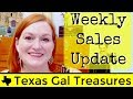 Weekly Sales Update from Ebay and Etsy - How To Make Money Selling On Ebay 2016