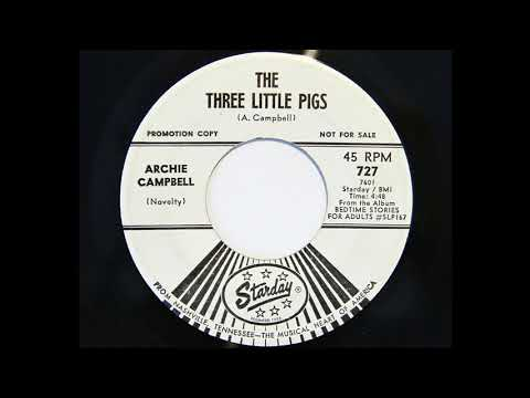 Archie Campbell - The Three Little Pigs (Starday 727)