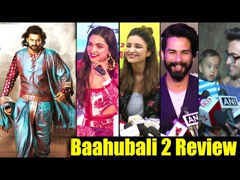 Thumbnail: All Bollywood Celebs On Baahubali 2 Success | Salman Khan's Brother In Law,Deepika,Shahid,Parineeti