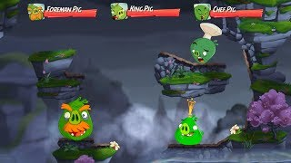 Angry Birds 2 King Pig Panic! (DAILY CHALLENGE) – 3 LEVELS Gameplay Walkthrough Part 218