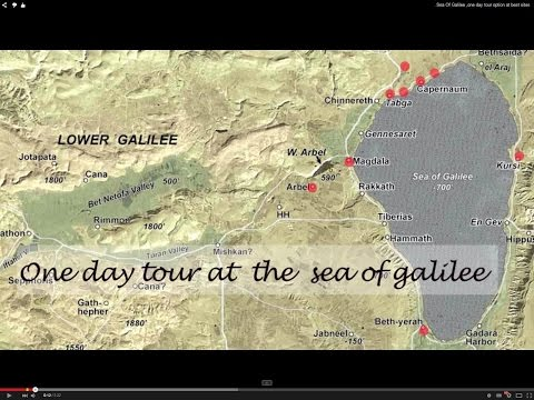 Best sites at the Sea Of Galilee in one day tour at Israel