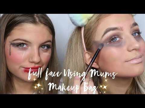 FULL FACE USING MUMS MAKEUP *such a fail* 😬| Grace and Grace