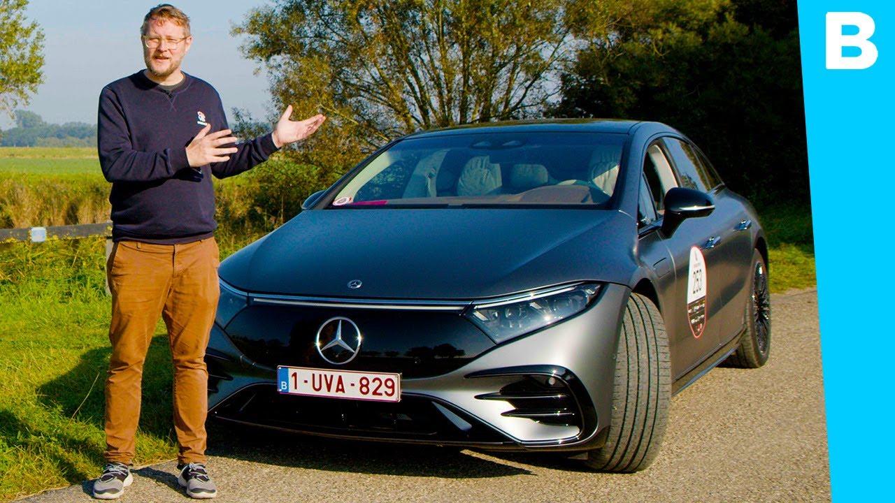 Deze elektrische Mercedes is een technisch meesterwerk!