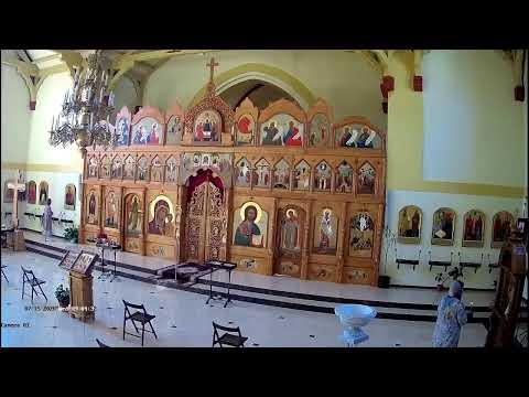 Божественная Литургия - онлайн трансляция богослужения 15 июля 2020 г.