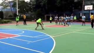 20151115 全港學界閃避球分區挑戰賽 聖嘉勒對九龍三育
