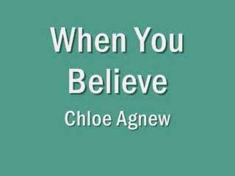 When You Believe by Chloe Agnew
