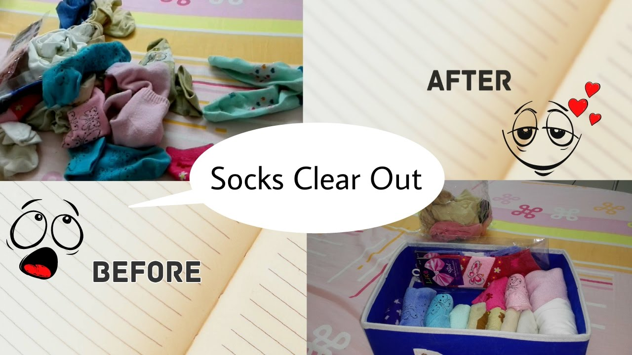 How To Organize Your Sock Drawer Fold Marie Kondo Way Happilysimplified