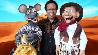 Axtell Rat and Cheese puppets sings old macdonald had a farm and Luciano Pavarotti CIELITO LINDO