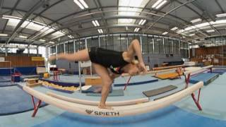 Weltklasse-Turnerin Elisabeth Seitz im 360°-Video