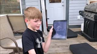 Backyard obstacle course challenge!!!