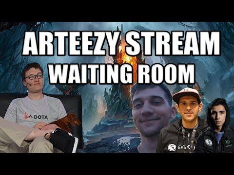 Arteezy Stream Waiting Room | Party Queue w/ Arteezy,Bulba,Grant,Sladin,Bryle & Sumail(Coach)
