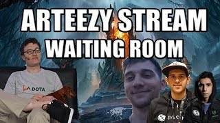 Arteezy Stream Waiting Room | Party Queue w/ Arteezy,Bulba,Grant,Sladin,Bryle & Sumail(Coach)