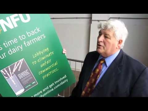 Devon County Show 2011 - NFU Campaigns for Dairy Farmers