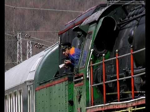 Bulgarian steam engine Class 01.23 - Koprivshtitsa railway station