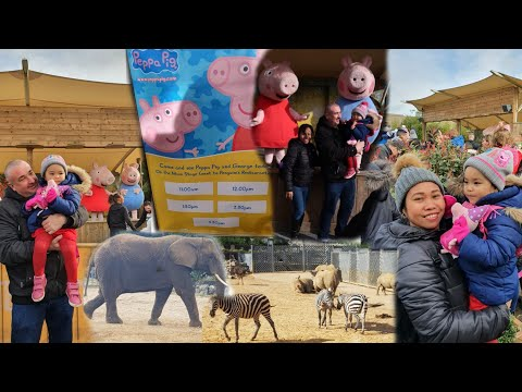 Colchester Zoo/peppa Pig And George /Colchester Essex/England