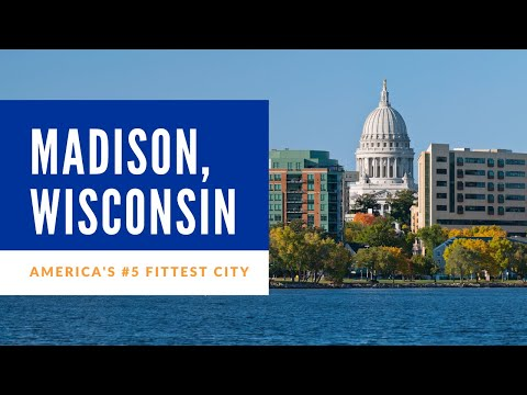 Madison, Wisconsin, America's 5th Fittest City