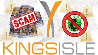 The Kingsisle Pack-a-Palooza SCAM (Wizard101 Pack Opening)