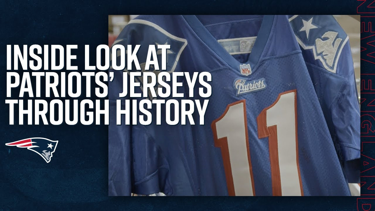 Tales of the Threads | An Inside Look at Patriots' Jerseys Throughout History