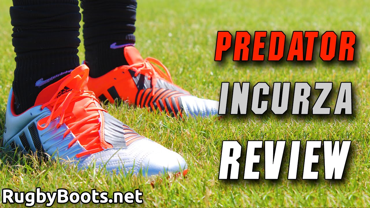 2015 adidas Predator Incurza Rugby Boots Review - YouTube cfcd432c7