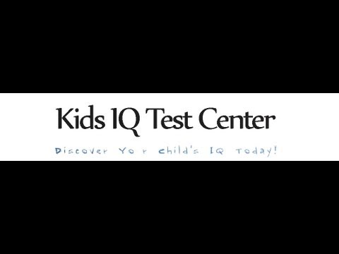 Kids IQ Test Center - Www.kids-iq-tests.com/free-tests.html