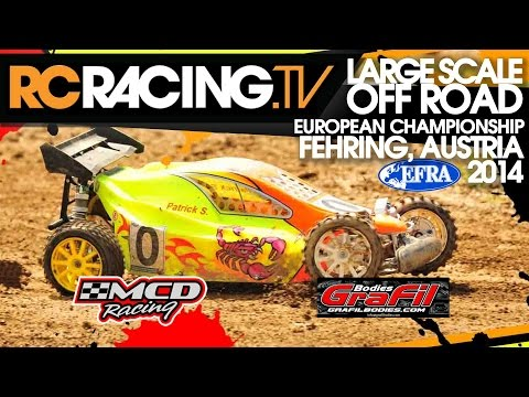 EFRA Large Scale Off Road Euros - Saturday - The Finals - LIVE!