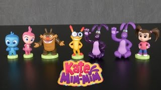 Kate & Mim-mim Series 1 Collectible Mini Figures From Just Play