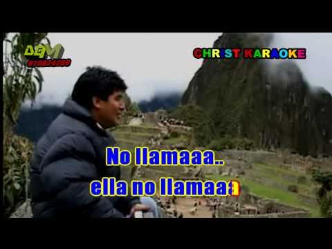 ALEGRES DE BAMBAMARCA   NO LLAMA  979824286 KARAOKE DEMO
