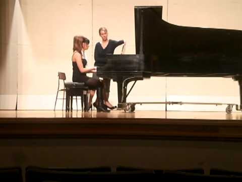 Piano Duet- Berceuse from the Dolly Suite by Gabriel Fauré