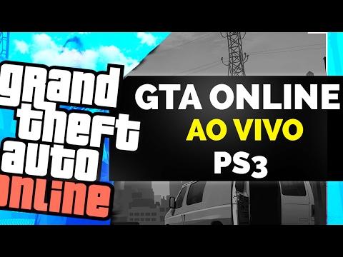 GTA ONLINE PS3 - SEXTA DE MOD MENU? AO VIVO