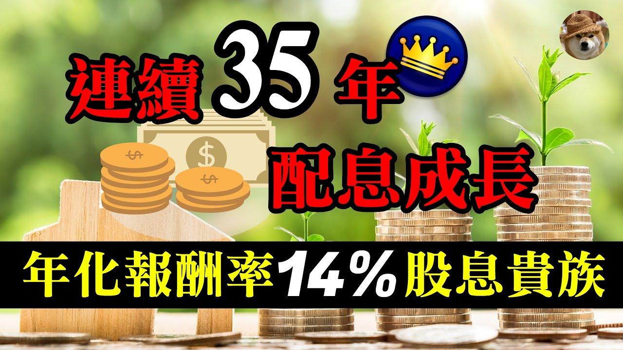 【我們生活中的美股】連續35年配息成長,年化報酬率達14%的股息貴族,存股族必看! 美股價值投資-MKC EP26