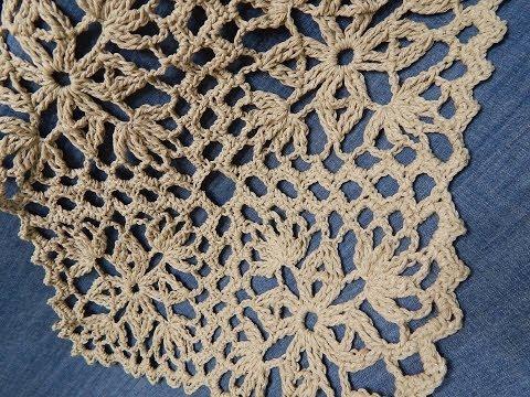Cuadro Para Cortina Crochet Youtube