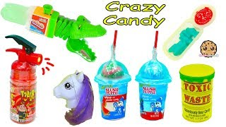 Crazy Weird Candy Haul Video - Spray Sour Candies, Juicy Drop Gum + More
