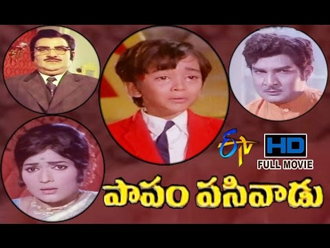 Papam Pasivadu | 1972 Telugu HD Full Movie |SV Ranga Rao | Devika | Nagesh | ETV Cinema