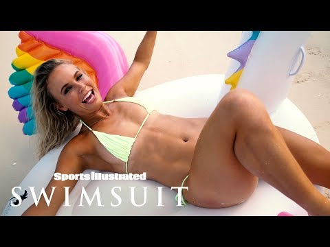 Caroline Wozniacki Gets Wet, Gives You A Cheeky Show | Outtakes | Sports Illustrated Swimsuit