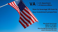 How Veterans can leverage the VA loan to buy investment properties