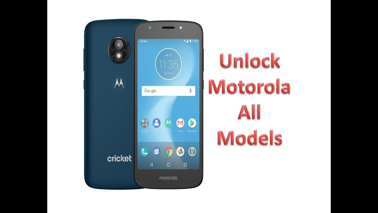 How To Unlock A Motorola Cricket Phone