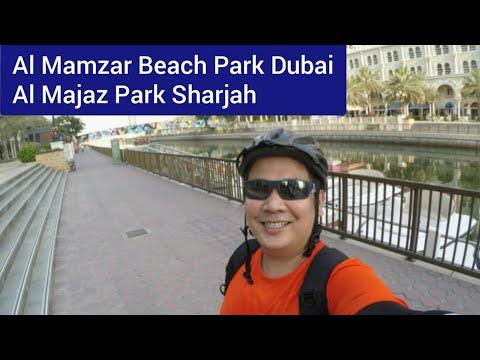 Al Mamzar Beach Park Dubai to Al Majaz Park Sharjah / Papa Kent#15