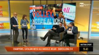 21-02-2013: Andrea Lucky Lucchetta burlone