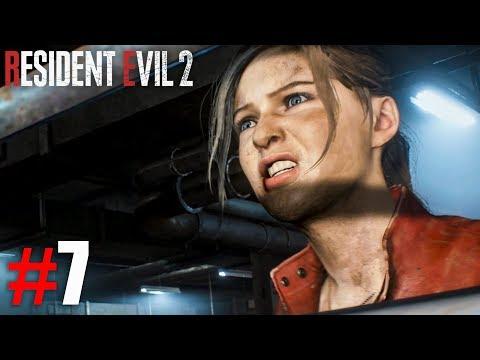 ВОТ ЖЕ СОБАКА УСАТАЯ! ► Resident Evil 2 Remake Прохождение #7 ► ХОРРОР ИГРА