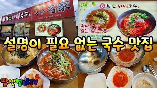 세종 조치원 맛집, 능소비빔국수, 국수 명가(名家), …