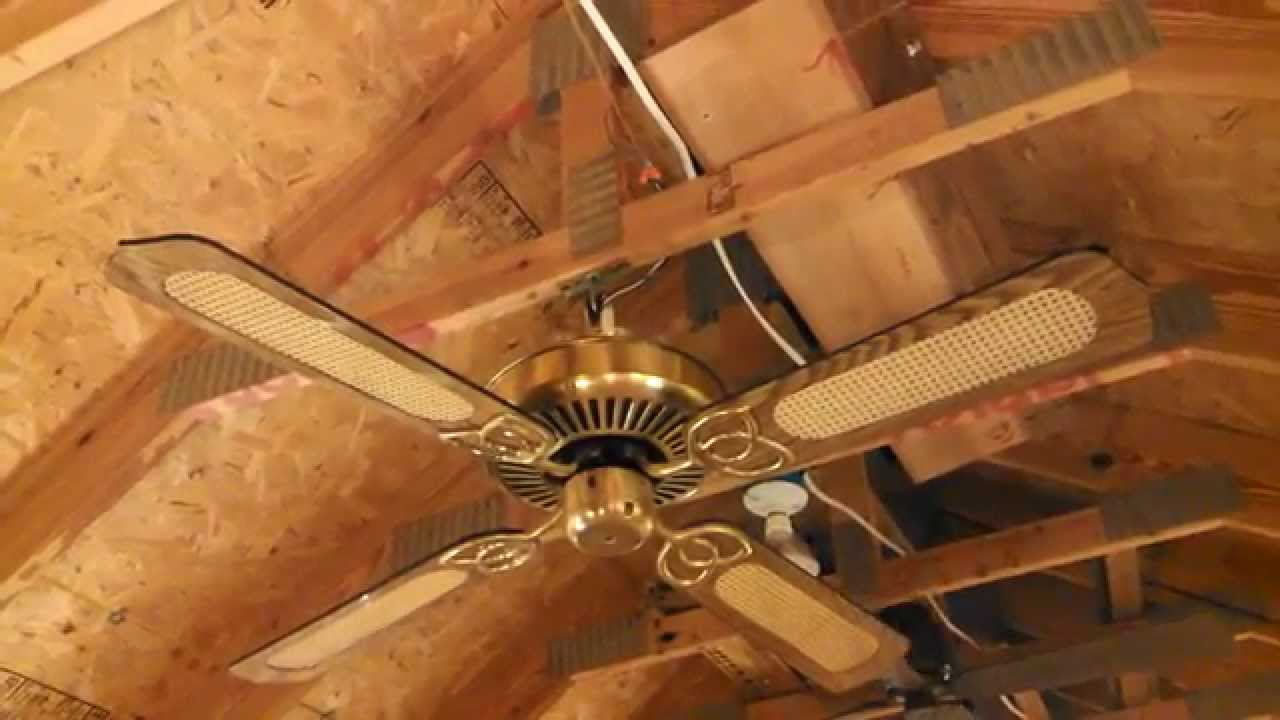 Encon Ceiling Fan With K55 Motor High Gloss Cane Blades Part 1