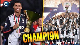 🇮🇹 OFFICIEL : La Juve est championne d'ITALIE pour la 9ème fois d'affilée / Bilan